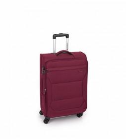 Trolley Mediano Board rojo -43x68x26cm-