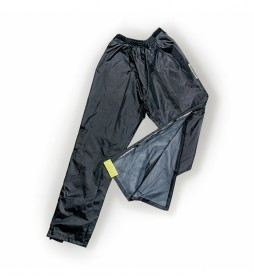 Garibaldi Pantalones impermeables Rain Zipper negro