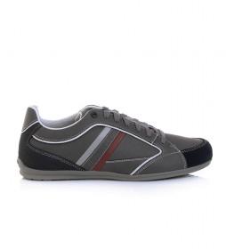Zapatillas de piel Houston gris