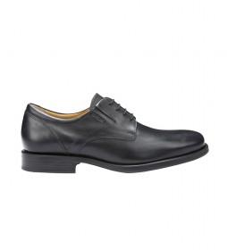 Zapatos de piel Federico negro