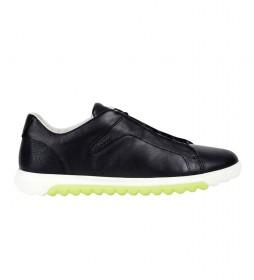 Zapatillas de piel Nexside negro