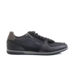 Zapatillas de piel Renan negro