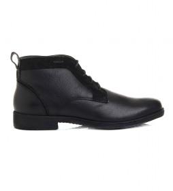 Zapatos de piel U Jaylon negro