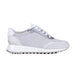 Zapatillas de piel Tabelya blanco roto