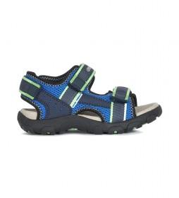 Sandalias Strada azul