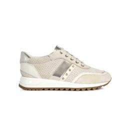 Zapatillas de piel Tabelya beige
