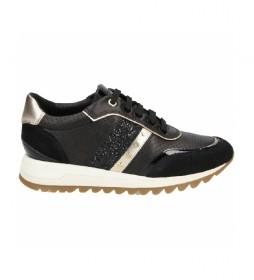 Zapatillas de piel Tabelya negro