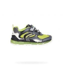 Zapatillas Android gris, verde