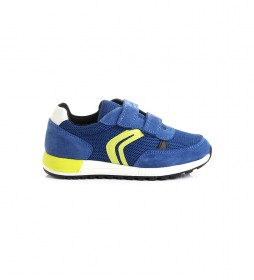 Zapatillas J Alben Boy A azul