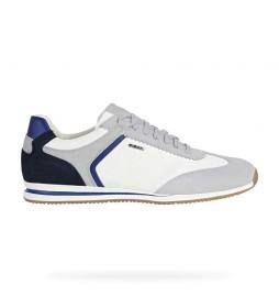 Zapatillas de piel Edizione gris