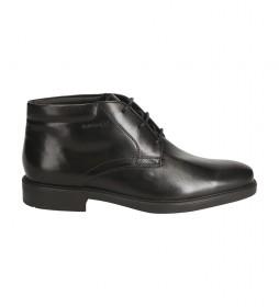 Zapatos de piel U Brandolf A  negro