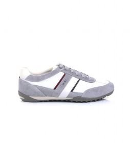 Zapatillas U Wells gris, blanco
