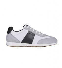 Zapatillas Arsien gris, blanco