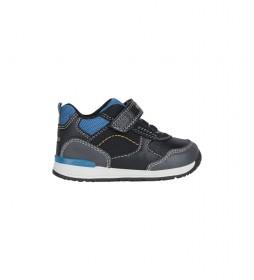 Zapatillas Rishon azul, negro