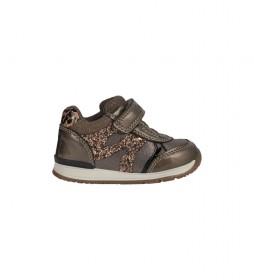 Zapatillas Rishon marrón