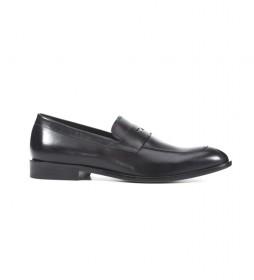 Zapatos de piel U Saymore D  negro