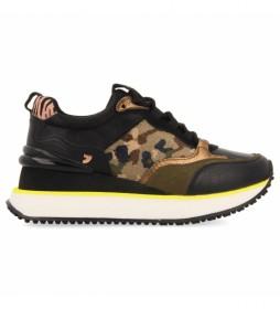 Zapatillas Birkenes negro, multicolor