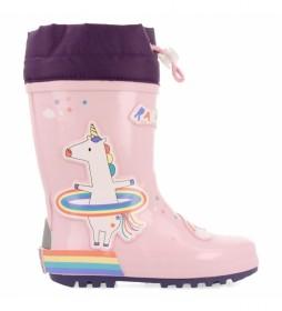 Botas de agua Bretten rosa