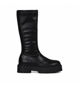Botas de piel Albig negro