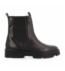 Botas de piel Kikuyu negro
