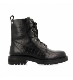 Botas de piel Waldeck negro