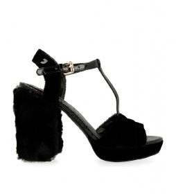 Sandalias Teresa negro -Altura tacón: 11cm-