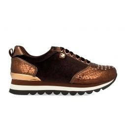 Zapatillas Aran cobre