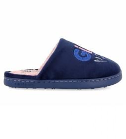 Zapatillas de Casa Skive marino