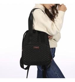 Mochila bolso negro - 38x28x12cm -