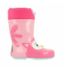 Botas de agua 60110 rosa
