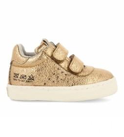 Botines Sneaker Lohmar dorado