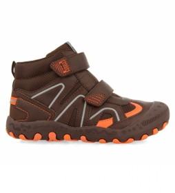 Zapatillas Trebbin marrón