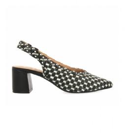 Zapatos de Piel Gilman negro -altura tacón 6cm-