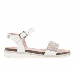 Sandalias de piel Hamoir blanco