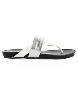 Sandalias de piel Odivelas plateado