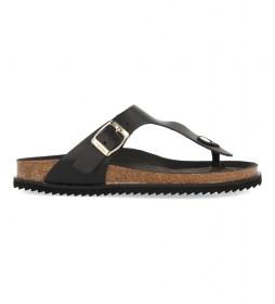 Sandalias de Piel Magona negro