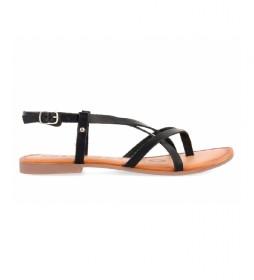 Sandalias de piel Vina negro