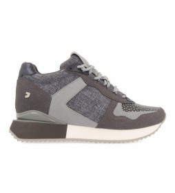 Zapatillas 64402 gris