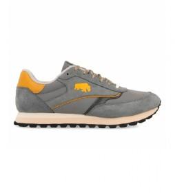 Zapatillas de piel Kineshma gris