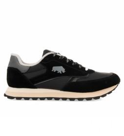 Zapatillas de piel Kineshma negro
