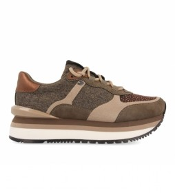 Zapatillas 64449 marrón