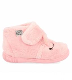 Zapatillas de casa Asbest rosa