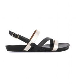 Sandalias de piel Rosensale negro