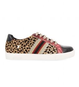 Zapatillas de piel Versalles multicolor