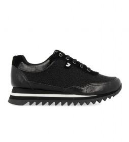 Zapatillas Diekirch negro -altura cuña: 4cm-