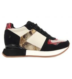 Zapatillas Kimry blanco -Altura cuña+suela: 5,8cm-