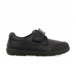 Zapatos de piel Beta marino