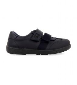 Zapatos de piel Salcha marino