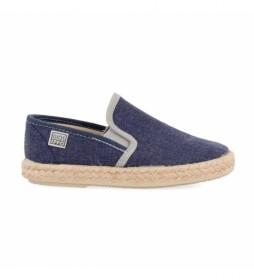 Zapatos Romeu marino