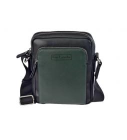 Bandolera de piel GL-50 verde -18x23x6cm-